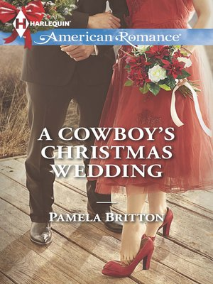 cover image of A Cowboy's Christmas Wedding